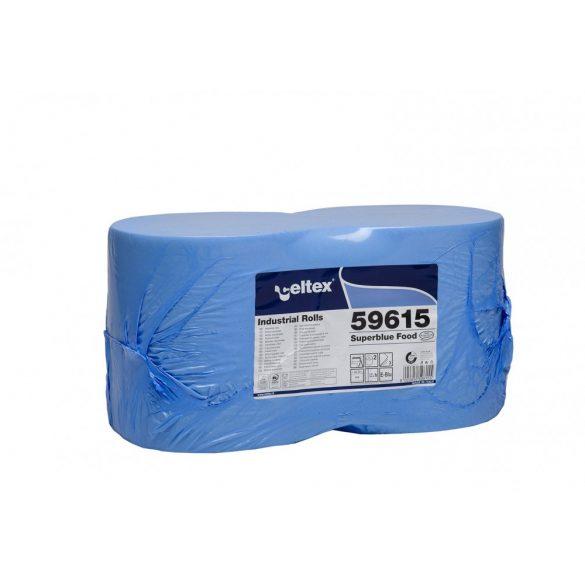 Celtex Superblue Food ipari törlő cell. kék, 3réteg, 150m, 500lap, 26,5x30cm/lap 2tek/zsug