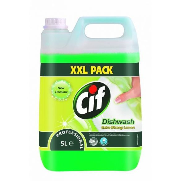 CIF Prof. mosogató 5 L Dishw. Extra Str.Lemon