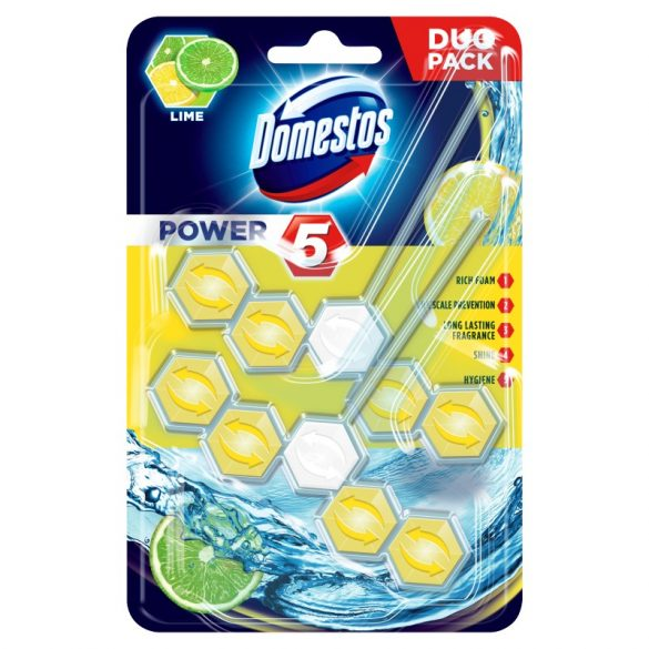 Domestos power5 Duó 2x55g Lime