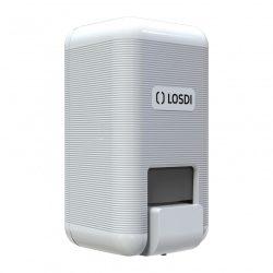 Losdi ECO LUX Line folyékony szappan adagoló, fehér 1 L
