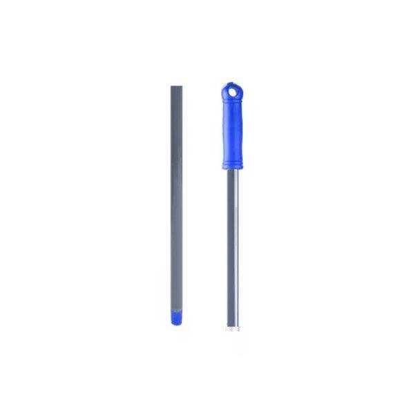Fém nyél, menetes, kék 130 cm