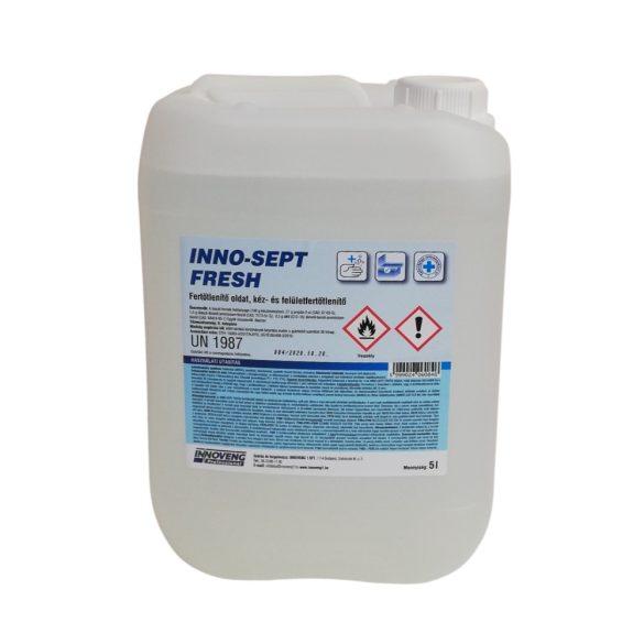 INNO-SEPT FRESH kéz- és felületfertőtlenítő oldat 5 L