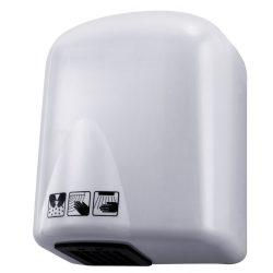 Kézszárító, ABS műanyag, fehér, 1650 W
