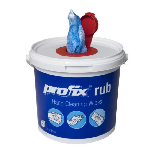 POFIX Rub ipari nedves törlőkendő 72 lapos