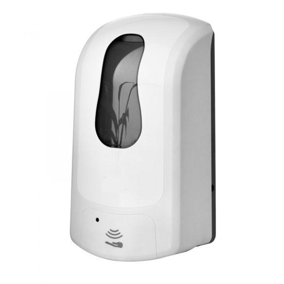 Szenzoros folyékony szappan és kézfertőtlenítő adagoló fehér 1000 ML