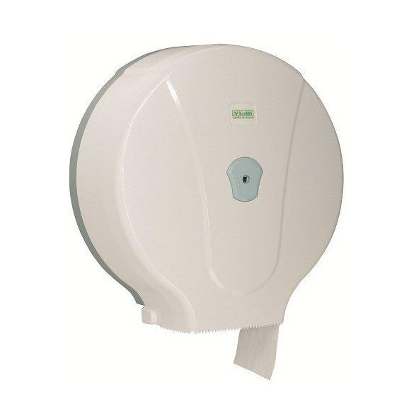 Vialli Maxi toalettpapír adagoló ABS műanyag, fehér