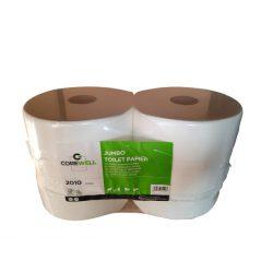 COREWELL toalettpapír 26cm, 2réteg, cellulóz, 260m, 6tekercs/zsugor